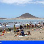 Granadilla pone control de aforo en playas a partir de mañana, durante julio y agosto