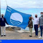Guía de Isora iza su bandera azul en La Jaquita por quinto año consecutivo
