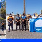 Adeje | Las playas de Troya I y II, El Duque, Torviscas y La Enramada izan sus banderas azules