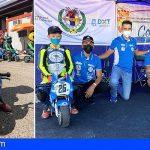 San Miguel | Eyden Diaz y Arón González en el Campeonato de España de Minivelocidad de Motociclismo