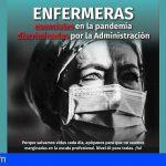 «Enfermería, la discriminación del colectivo que se ha dejado el alma y, en algunos casos, la vida, en la actual pandemia»