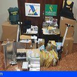 Cuatro detenidos entre Callao Salvaje y Guargacho por distribuir drogas por paquetería