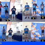 Stgo. del Teide   Jairo Pérez y Annick Kerckhove ganadores de la prueba de 13KM de la I Cronoescalada