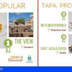 Guía de Isora | La tapa 'Pájaro Canario' de The View, premio profesional y popular de la ruta Sabores de Primavera