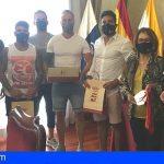 Guía de Isora recibió a los campeones de España de Jiu Jitsu