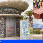 CC-PNC de Arona denuncia el estado de abandono del kiosko ubicado frente a los Juzgados del municipio