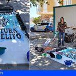 Granadilla | Muziget reivindica zonas públicas donde los artistas puedan actuar de manera libre sin ser multados