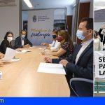 Los fisioterapeutas también solicitan la retirada de la publicidad tabaquera que utiliza como imagen La Graciosa
