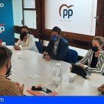 Tenerife | El PP lanzará nuevas iniciativas en las instituciones para ayudar a hosteleros y restauradores