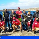 Arico | Promemar recogió 187 kg de basura en el Muelle del Poris