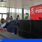 El Comité del PSOE tinerfeño aprueba la gestión de la ejecutiva por un 99% a favor
