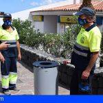 Stgo. del Teide se encuentra sustituyendo cerca de 300 nuevas papeleras