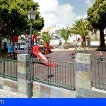 Mañana se dará apertura al parque infantil de Arona Casco