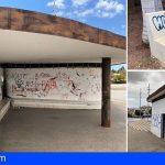 CC-PNC Arona denuncia el abandono total y el deterioro del parque de Garañaña en Costa del Silencio