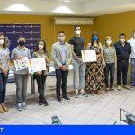 Tenerife entregó los premios de la primera edición del concurso Somos+Sostenibles