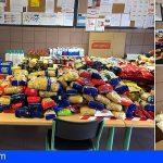 Arona | La campaña de recogida de alimentos del colegio Parque La Reina consiguió ayudar a 43 familias