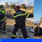 Bomberos de Tenerife intervino en el Sur en 8 incidentes por hogueras en la Noche de San Juan