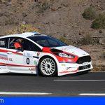 Félix Brito compite por primera vez con el Ford Fiesta R5 Plus en Güímar