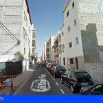 El Ayuntamiento de Arona adoptó medidas hace 2 semanas en un inmueble de Los Cristianos por la caída de cascotes