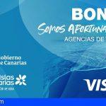 Canarias inicia la activación de las tarjetas virtuales de los Bonos Turísticos Somos Afortunados