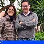 Yapci Prieto y Ana Dorta lideran Coalición Canaria en Guía de Isora