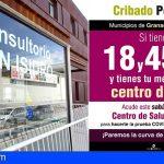 El cribado de Covid-19 se hará en el Centro de Salud de San Isidro para los residentes de Granadilla y San Miguel