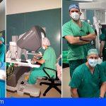 El HUC incorpora cirugía torácica en las intervenciones con el robot quirúrgico Da Vinci