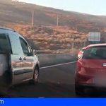 Tenerife | Identifican a dos conductores que fueron grabados conduciendo temerariamente por la TF-1