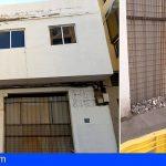 CC-PNC de Arona alerta del peligro que viven vecinos de Los Cristianos por el mal estado de un inmueble