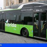 TITSA incorporará a su flota 96 vehículos híbridos y 5 guaguas diésel durante los años 2022 y 2023
