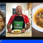Juan Santana | Sopa de Ajo con Almejas y Huevo Barbuzano