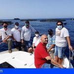 Conocidos chefs del Sur de Tenerife participaron en el tour Aquanaria de la gran lubina atlántica de Gran Canaria