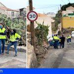 Guía de Isora y Entemanser renuevan la red de abastecimiento de Acojeja