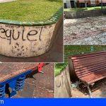 CC-PNC de Arona denuncia el abandono en El Fraile del parque situado junto al campo de fútbol Dionisio González