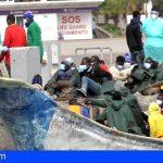 Esta mañana llegaron 31 migrantes al puerto de Los Cristianos