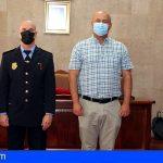Granadilla | Ricardo Rivero toma posesión como subinspector de la Policía Local