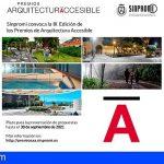 El Cabildo de Tenerife convoca la IX edición de los Premios de Arquitectura Accesible