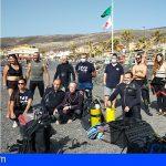 Promemar recogió 110 kg de basura en el Puertito de Güímar