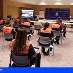 Protección Civil de Granadilla y San Miguel ampliarán su formación en primeros auxilios, DESA y apoyo psicológico