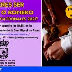 San Miguel abre el plazo de inscripción para participar en la Gala de Elección de Romera y Romero Mayor