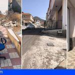 CC-PNC de Santiago del Teide exige que aceleren las obras de saneamiento de la zona de El Cascajo
