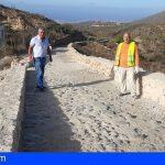 El proyecto de adecuación medioambiental de senderos de San Miguel avanza a buen ritmo