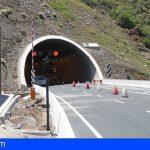 Stgo. del Teide | Cinco heridos en una colisión múltiple dentro del túnel del Bicho