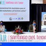 Stgo. del Teide presentó la Ruta Ecotur «Entre Almendros y Volcanes»