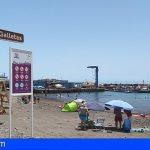 Arona habilita en Las Galletas y el Palm Mar 2 nuevos puntos de baño, con 2 socorristas en cada una