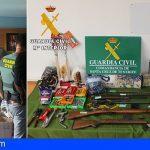 Un detenido en el Sur de Tenerife por supuesta compra-venta ilícita de armas de fuego