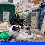 CC-PNC de Arona denuncia la falta de limpieza en varias zonas de El Fraile