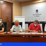 """Ayuntamiento y Cruz Roja firman un convenio par llevar a cabo """"Adeje Recuperación"""""""