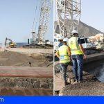 El Cabildo inicia la construcción del nuevo dique de Bajamar