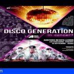 El Auditorio de Los Cristianos te lleva hasta los 70´S con el concierto Disco Generation